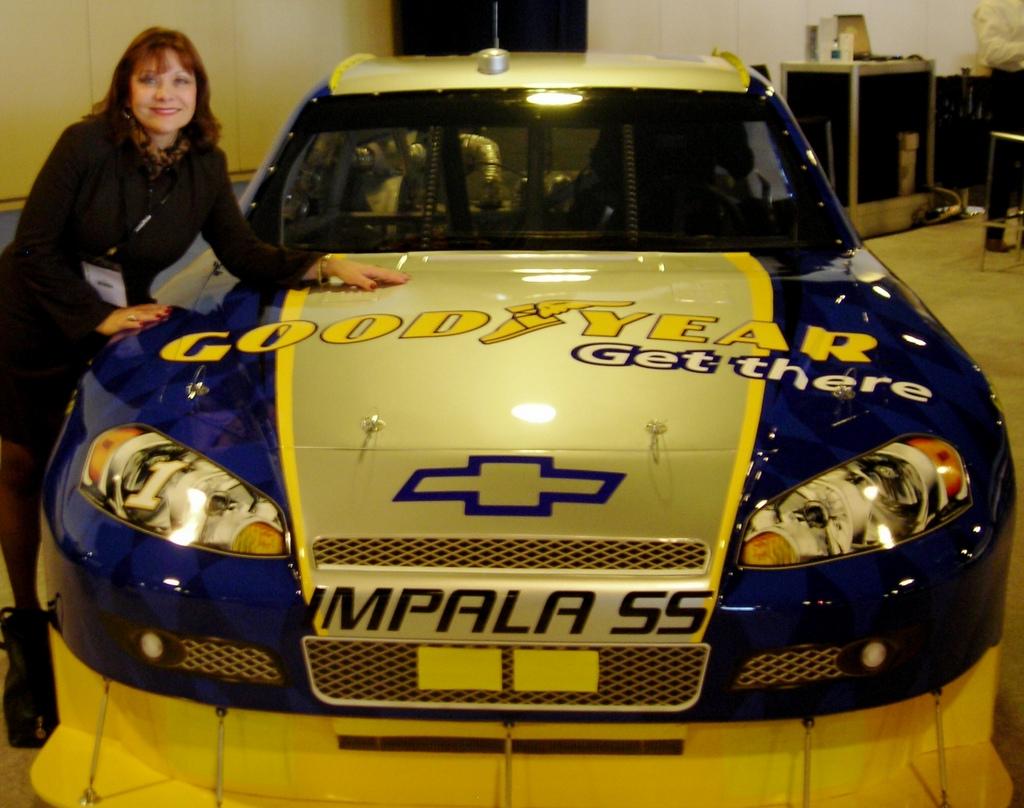 Goodyear Racecar